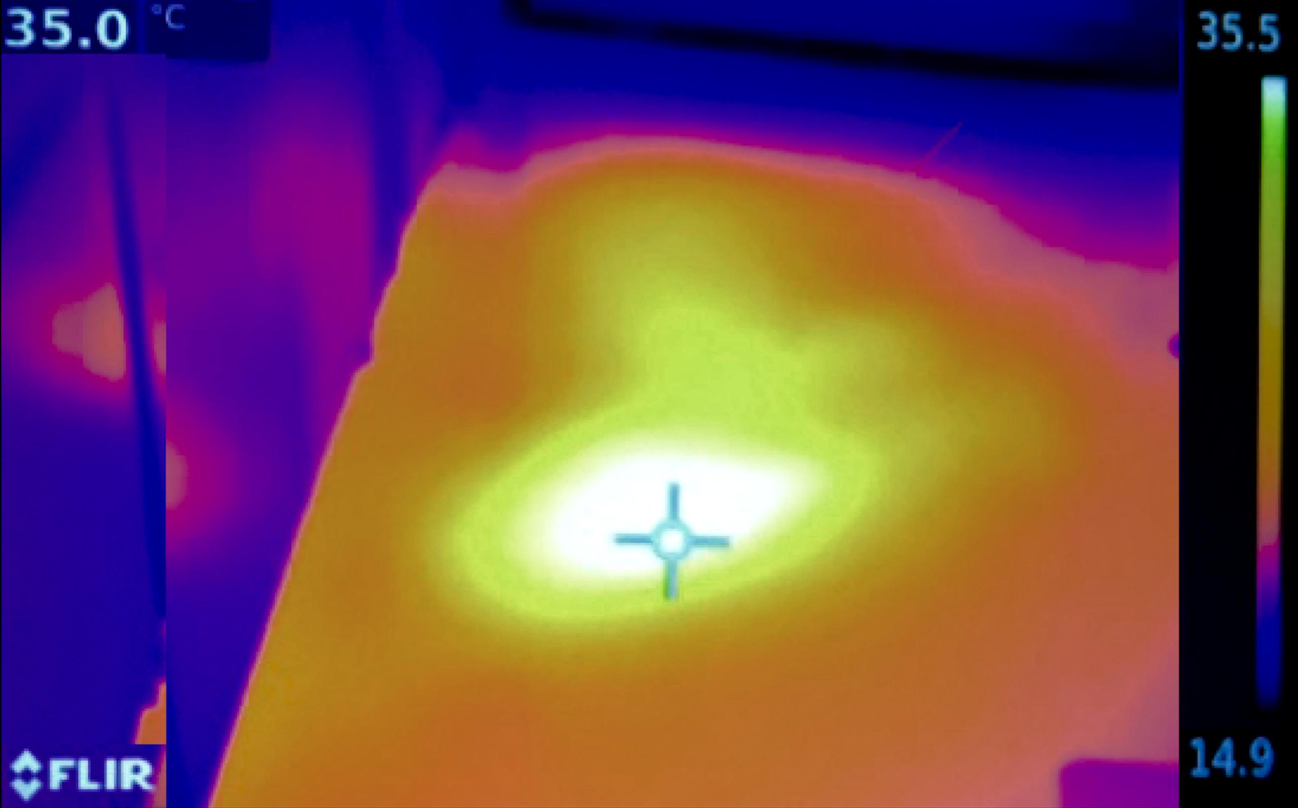 détection de fuite chauffage par infrarouge